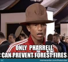 Pharrell Meme - only pharrell can prevent forest fires by thetonzter meme center