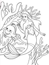 download brimsby protecting ariel little mermaid coloring pages or
