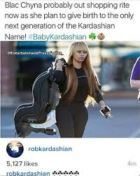 Having A Baby Meme - rob kardashian taunts his famous family by posting meme about blac
