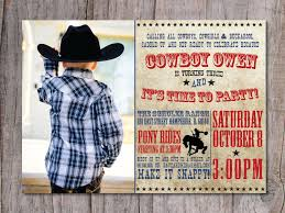 make your own party invitation cowboy party invitations marialonghi com