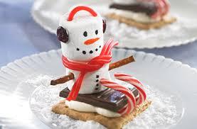 snowman marshmallows marshmallow snowmen spray