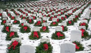 Flags At Half Mast Michigan Christmas Wreath Fundraiser Underway For Grand Rapids Veterans