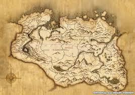 Journey Map Mod Skyrim World Map 1221 858 Game Room Prints Pinterest Game