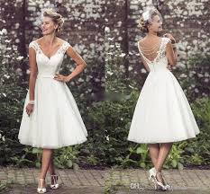 Knee Length Wedding Dresses Wholesale Knee Length Wedding Dresses Buy Cheap Knee Length