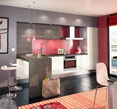 deco cuisine grise et deco cuisine grise idee deco pour cuisine grise luxury