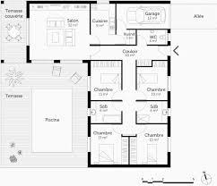 plan maison 4 chambres suite parentale plan maison plain pied 4 chambres avec suite parentale beau fabuleux