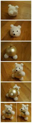 diy teddy ornaments for take this make that