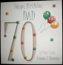 personalised handmade dad 30th 40th 50th 60th 70th 80th 90th