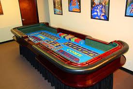 Craps Table Game Companies Casino Rentals Hire Casino Tables