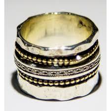 spinner rings spinner ring sterling silver 9k gold ring rings for woman