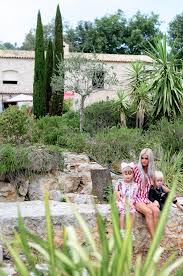 Family In The Garden In The Garden Saint Paul De Vence France S T E P H A N Y