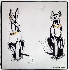 Anubis Tattoo Ideas Bastet And Anubis Tattoo But Where To Put Them Hmmmm Tattoo