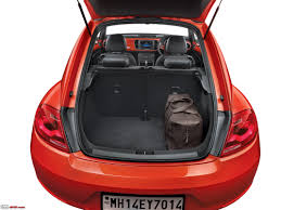 2000 volkswagen beetle trunk volkswagen beetle launched in india at rs 28 73 lakh team bhp
