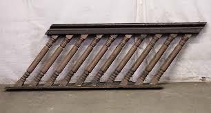 Handrail Rosette Big U0026 Chunky American Chestnut Stair Railing Olde Good Things