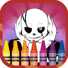 coloring book undertale sans android apps google play