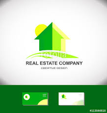 home logo icon real estate green house home logo icon stock image and royalty