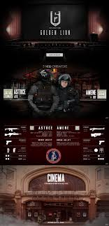 cinema siege belgian operation golden rainbow six siege fanmade by