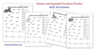 fall multiplication and division worksheets free homeschool den