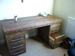 Rustic Wood Office Desk Wood Office Desk New Wood Office Desks With Solid Wood Office Desk