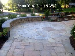 Front Yard Patio Yard Design Ideas Front Patio I Love The Idea Of A Low Wall