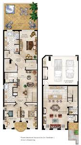 House Plan Costaverano Townhomes135 Town Floor Plans Gallery For Small Town Home Plans
