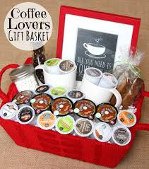 raffle baskets give the gift of coffee coffee lover gifts and coffee