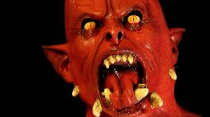 the collector halloween mask lucifer howling halloween mask and horror devil monster from hell