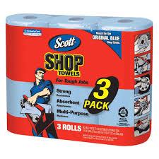 Home Depot Job Atlanta Ga Scott Shop Towels 3 Rolls Pack 75143 The Home Depot