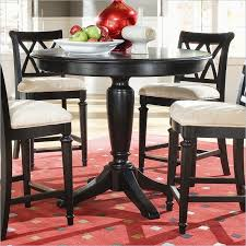 american drew camden white round dining table set american drew camden round pedestal table in counter height 919 707r