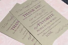 Wedding Program Fans Wording Wedding Program Thank You Wording For Family And Friends