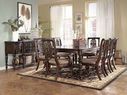 wood dining room table sets remarkable ashley furniture formal dining room sets throughout