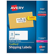 amazon com avery mailing labels with trueblock technology for