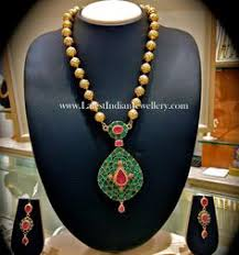 wedding necklace set cz gold plated indian style