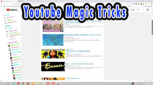Doge Meme Youtube - top 3 youtube magic tricks youtube search bar tricks use the