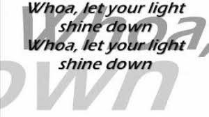 Let Your Light Shine Down Pillar Shine With Lyrics Youtube