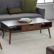 coffee table belham living carter mid century modern coffee table