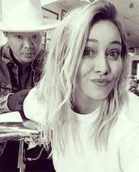 hilary duff shows off a new tattoo was the ink motivated by her