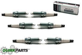 nissan altima 2015 spark plugs 2009 2011 nissan maxima vq35de engine set of 6 spark plugs