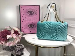 luxury handbags women bags designer marmont velvet aaaaa quality