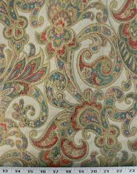 Fabric For Curtains And Upholstery Grand Paisley Gold Best Fabric Store Online Drapery And