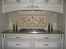 tiles backsplash grey kitchen cabinets with white countertops