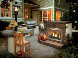 outdoor gas fireplace designs the home design pick one the best