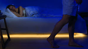 motion activated bed lighting dudeiwantthat