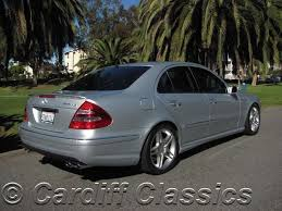 2006 mercedes e class 2006 used mercedes e class e55 at cardiff classics serving