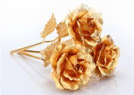 golden roses 24k gold foil golden s day gift at banggood sold out