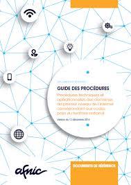 bureau d enregistrement nom de domaine guide des procédures pour les bureaux d enregistrement