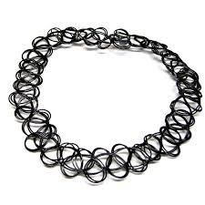 black tattoo necklace images 90 39 s black tattoo choker necklace vintage elastic stretch gothic jpg