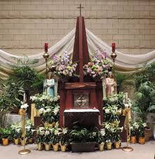 Easter Church Flower Decorations by St Francis Of Assisi Parish Bend Oregon Our Churches At Easter
