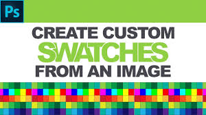 color swatches photoshop tutorial how to create custom color swatches from an