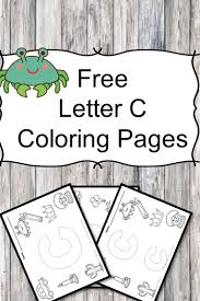 letter c coloring pages png